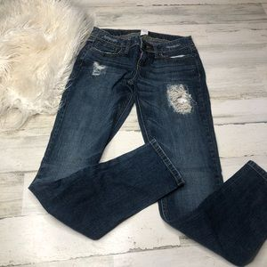 Candie's jeans size 1 one distressed